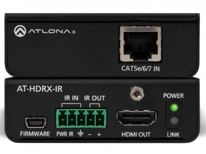 Atlona Kit HDMI Over Categoria AT-HD-IR. Com IR